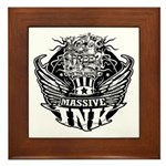 Massive Ink 900x900 Framed Tile