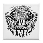 Massive Ink 900x900 Tile Coaster