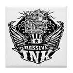 Massive Ink 900x900 Tile Coaster