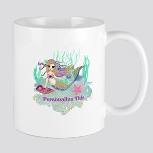 Cute Personalized Mermaid Mugs