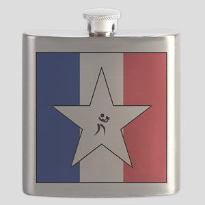 Team Boxing Americana Flask