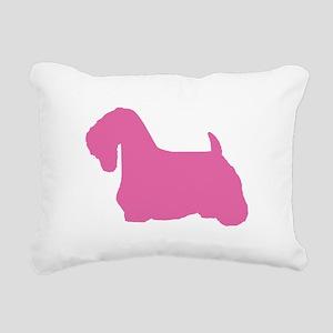 SEALYHAM TERRIER Rectangular Canvas Pillow