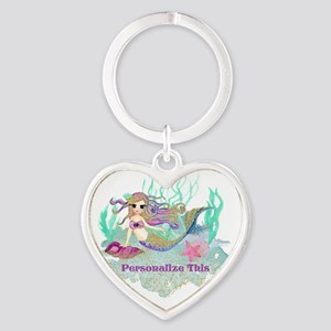 Cute Personalized Mermaid Keychains