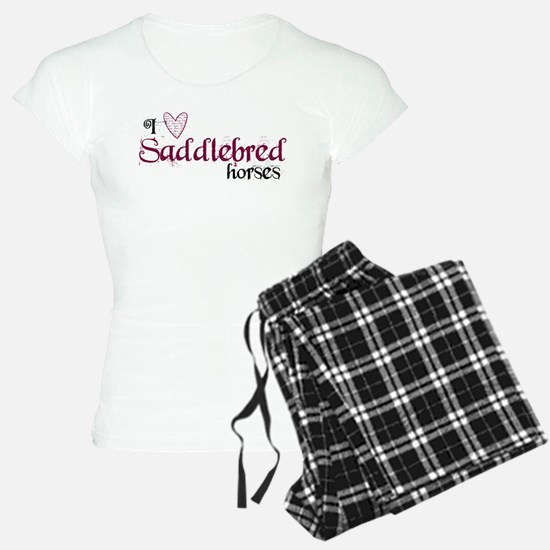Saddlebred horses pajamas