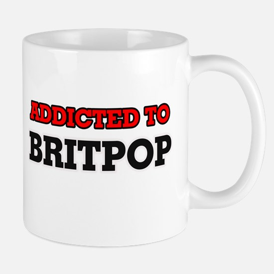 Addicted to Britpop Mugs