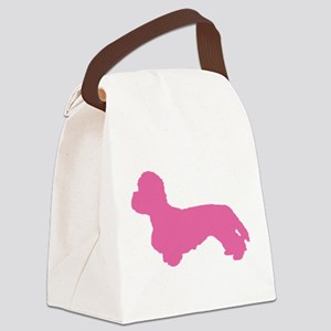 DANDIE DINMONT TERRIER Canvas Lunch Bag