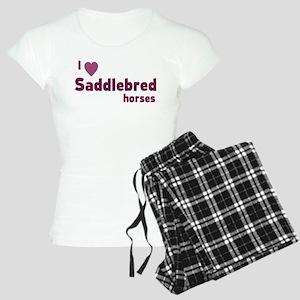 Saddlebred horse pajamas