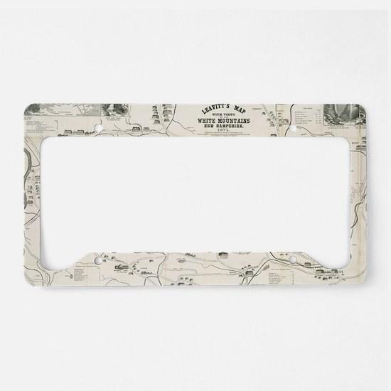 Unique Antique License Plate Holder