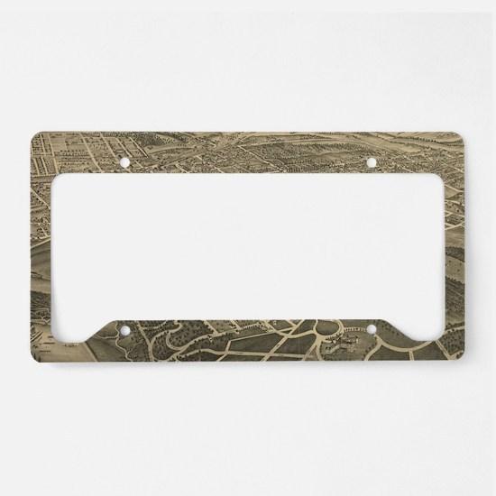 Unique Salem License Plate Holder