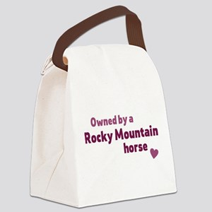 Rocky Mountain horse Canvas Lunch Bag