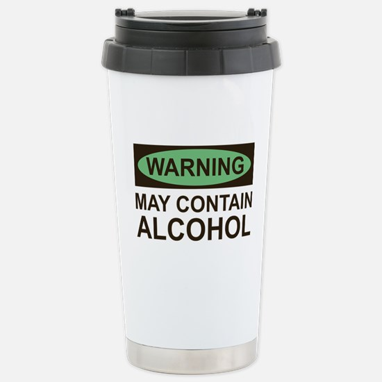 MayContainAlcohol1A.png Stainless Steel Travel Mug