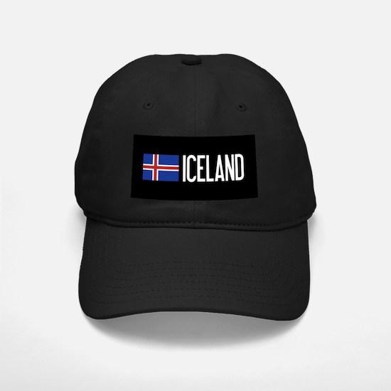 Iceland: Icelandic Flag & Iceland Baseball Hat