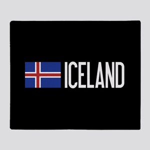Iceland: Icelandic Flag & Iceland Throw Blanket