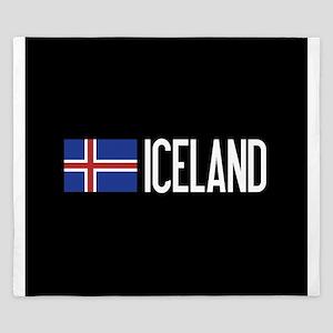 Iceland: Icelandic Flag & Iceland King Duvet