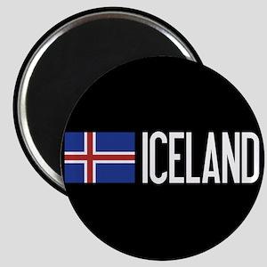 Iceland: Icelandic Flag & Iceland Magnet