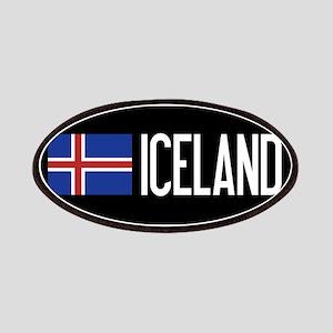 Iceland: Icelandic Flag & Iceland Patch