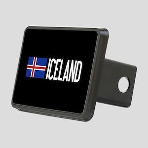 Iceland: Icelandic Flag & Rectangular Hitch Cover