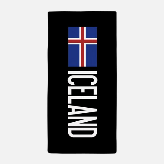 Iceland: Icelandic Flag & Iceland Beach Towel