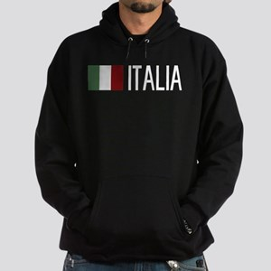 Italy: Italian & Italian Flag Hoodie