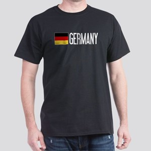 Germany: Germany & German Flag Dark T-Shirt
