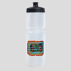 CALIFORNIA BAY CRUISER Beach Cities Sports Bottle