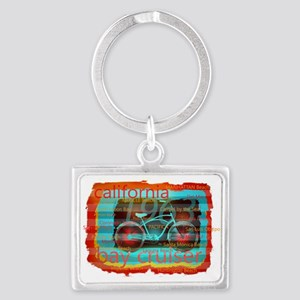 CALIFORNIA BAY CRUISER Beach Cities Keychains