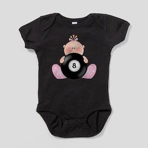 Lil Billiards Baby Girl Body Suit