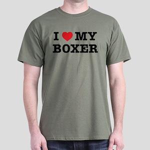 I Heart My Boxer T-Shirt
