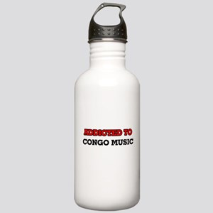 Addicted to Congo Musi Stainless Water Bottle 1.0L