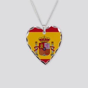Flag of Spain Necklace