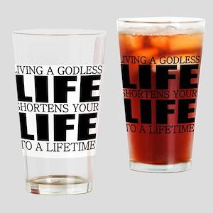 God Drinking Glass