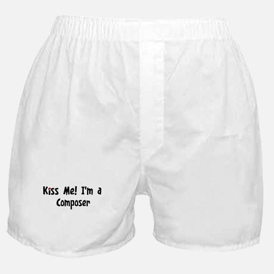 Kiss Me: Composer Boxer Shorts