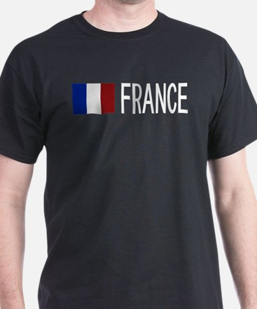 France: French Flag & France T-Shirt