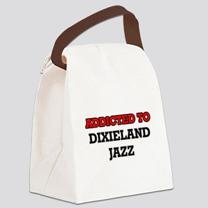 Addicted to Dixieland Jazz Canvas Lunch Bag
