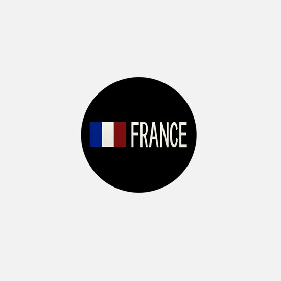 France: French Flag & France Mini Button