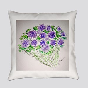 Purple in Bloom! Everyday Pillow