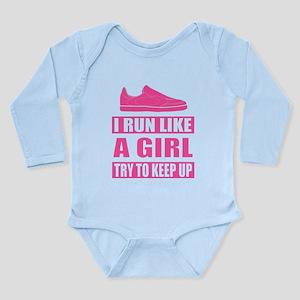 I Run Like a Girl Body Suit