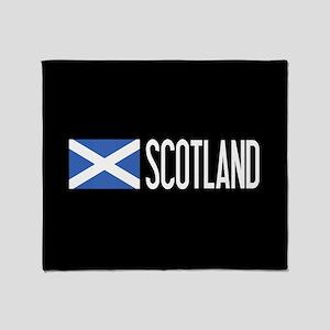 Scotland: Scottish Flag & Scotland Throw Blanket
