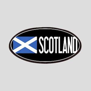 Scotland: Scottish Flag & Scotland Patch