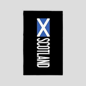 Scotland: Scottish Flag & Scotland Area Rug