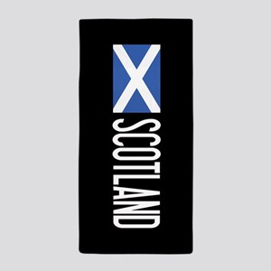 Scotland: Scottish Flag & Scotland Beach Towel