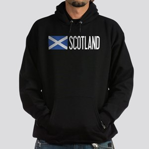Scotland: Scottish Flag & Scotland Hoodie (dark)
