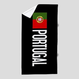 Portugal: Portuguese Flag & Portugal Beach Towel