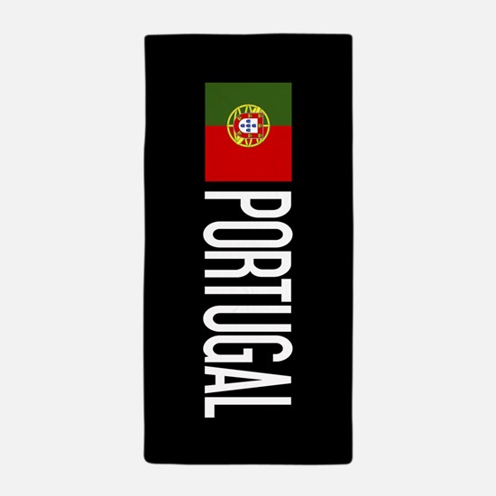 Portugal: Portuguese Flag & Portugal Beach Towel