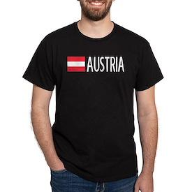 Austria: Austrian Flag & Austria T-Shirt