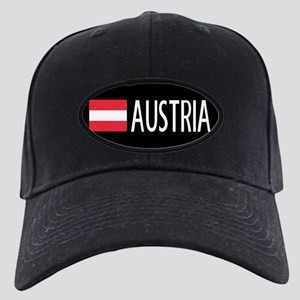 Austria: Austrian Flag & Austria Black Cap