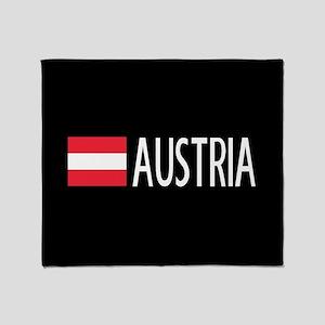 Austria: Austrian Flag & Austria Throw Blanket