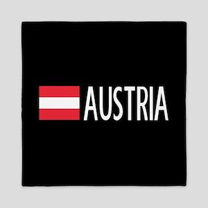 Austria: Austrian Flag & Austria Queen Duvet