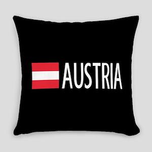 Austria: Austrian Flag & Austria Everyday Pillow
