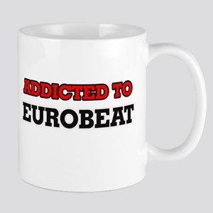 Addicted to Eurobeat Mugs
